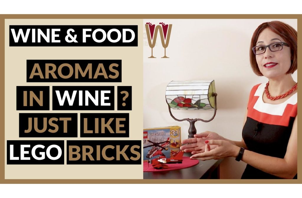 Aromas in Wine: A bit like Lego bricks?