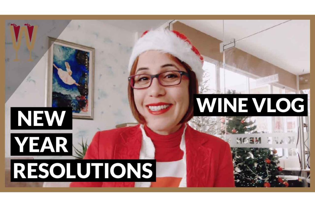 WineScribble New Year's Resolutions 2018