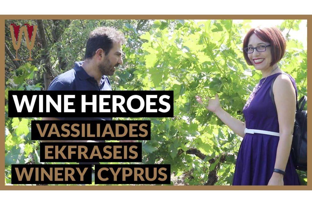 Terroir and Tasting Cyprus Wine at Vassiliades Ekfraseis Winery