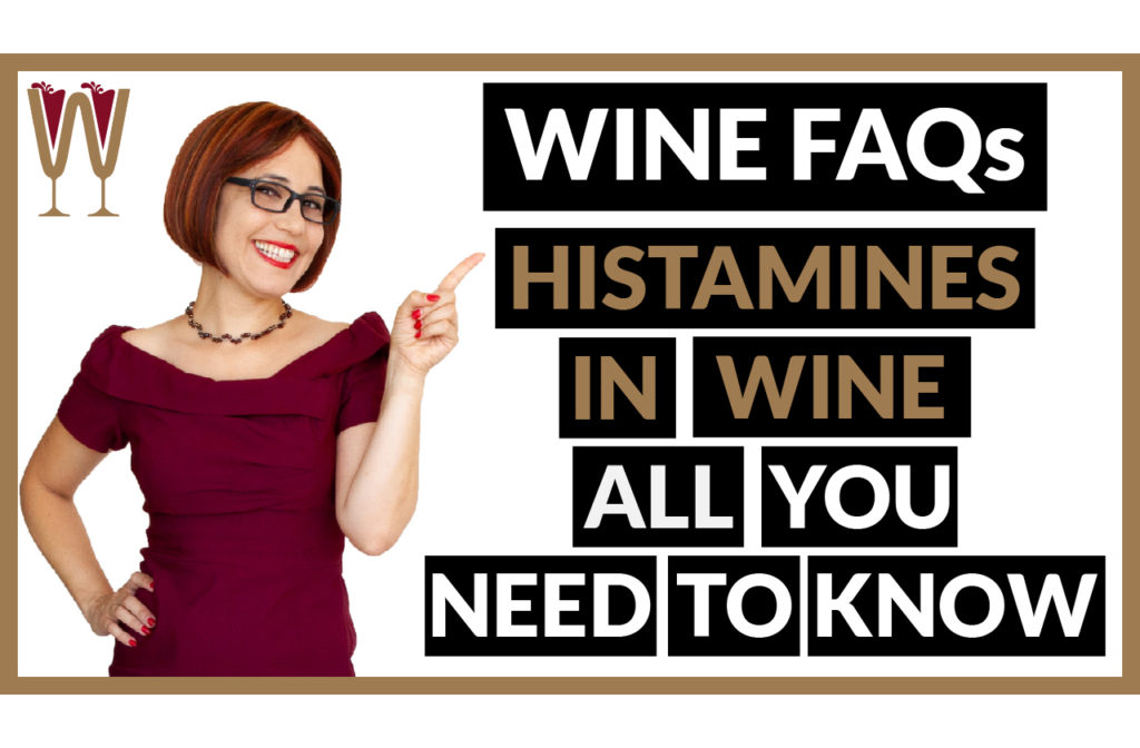Banner image of Annabelle McVine discussing Histamines in Wine