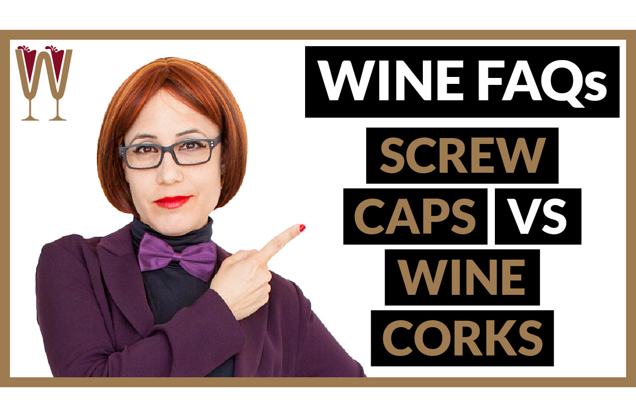 Banner image of Annabelle mcVine discussing Wine Cork vs Screw Caps