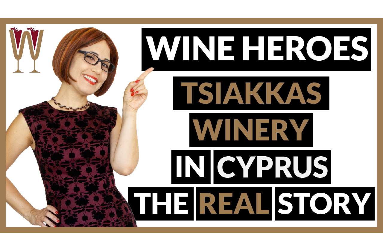 Banner image of Annabelle McVine discussing Tsiakkas Winery in Limassol