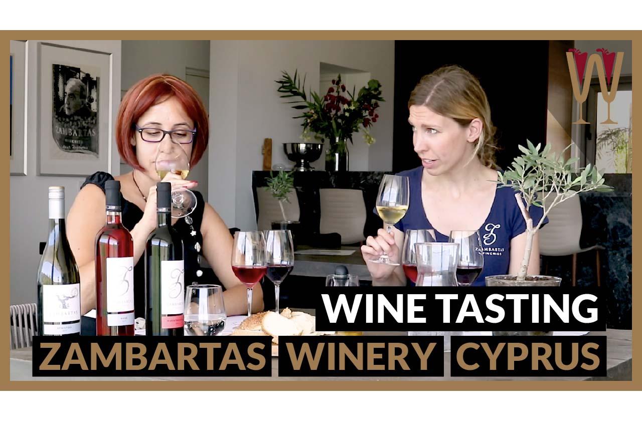 Zambartas Wine Tasting with Marleen Zambartas